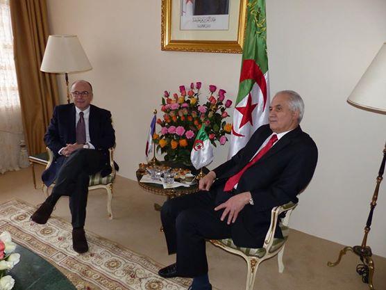 Visite en Algérie du Ministre Bernard Cazeneuve